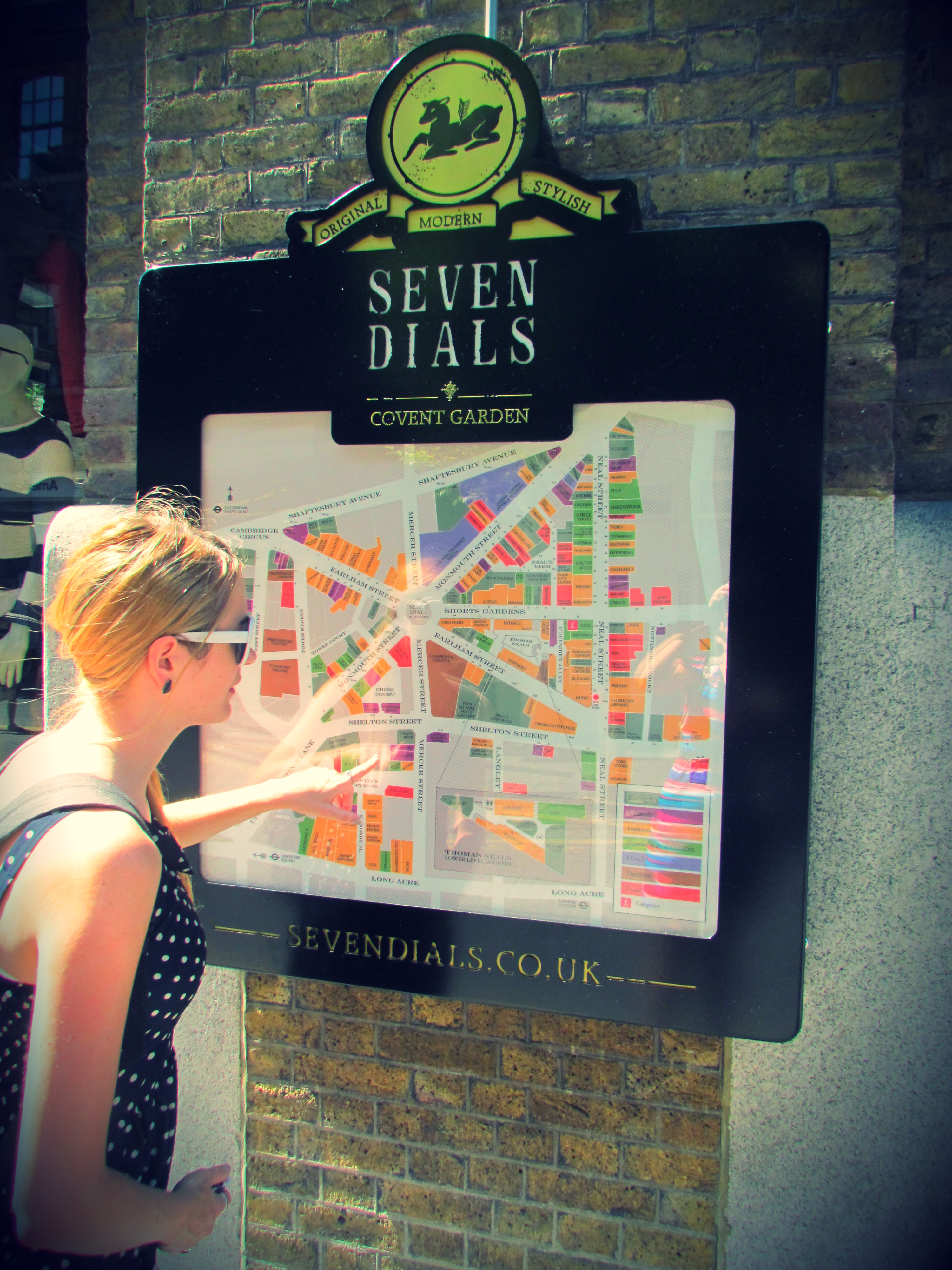 What swinging london town